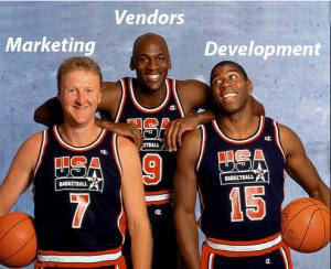 Marketing, Vendors and Development